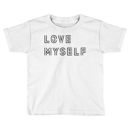 Love My Self Toddler T-shirt Designed By Citron