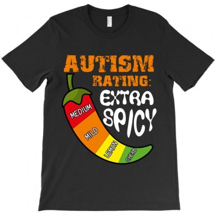 Autism Rating Extra Spiny T-shirt Designed By Wizarts