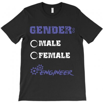 Gender Male Female Engineer T-shirt Designed By Wizarts