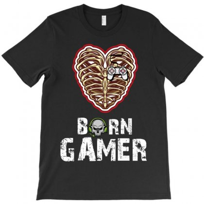 Born Gamer T-shirt Designed By Wizarts