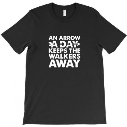 An Arrow A Day Zombie Dary T-shirt Designed By Enjang