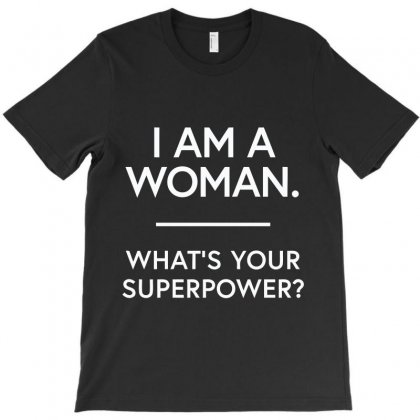 What's Your Superpower (white) T-shirt Designed By Citron