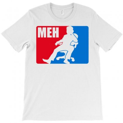 Pro Meh T-shirt Designed By Noir Est Conception