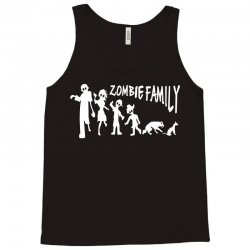 zombie family (white) Tank Top | Artistshot