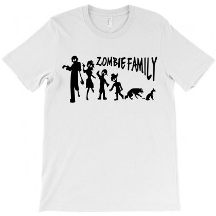 Zombie Family T-shirt Designed By Viral Style