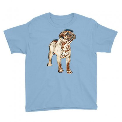 My Dog Is Cutest Youth Tee Designed By Kemnabi