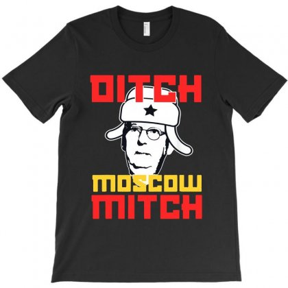 Ditch Moscow Mitch Senator Mcconnell T-shirt Designed By Blqs Apparel