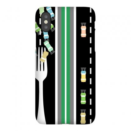Fork In The Road Iphonex Case Designed By Mailboxdisco