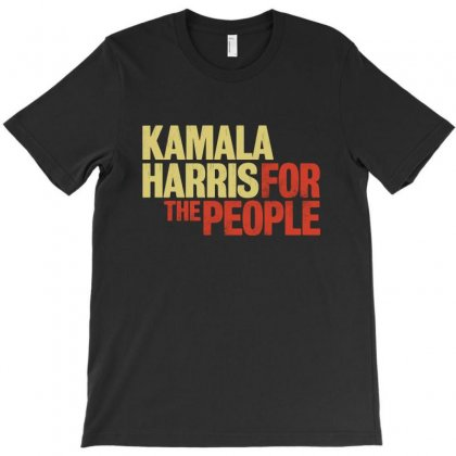 Kamala Harris For The People T-shirt Designed By Blqs Apparel