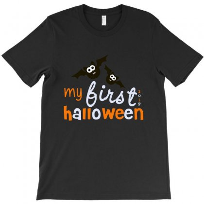 My First Halloween T-shirt Designed By Meganphoebe