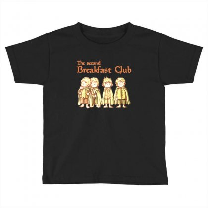 Breakfast Club Toddler T-shirt Designed By Ande Ande Lumut