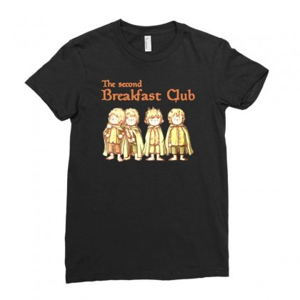 Breakfast Club Ladies Fitted T-shirt Designed By Ande Ande Lumut