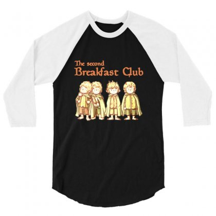 Breakfast Club 3/4 Sleeve Shirt Designed By Ande Ande Lumut