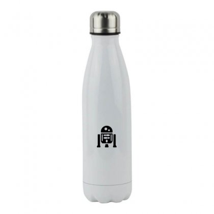 R2 D2 Stainless Steel Water Bottle Designed By Meganphoebe