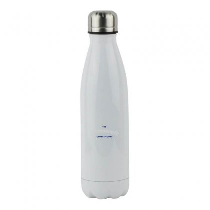 The Roosevelt Coffeehouse Stainless Steel Water Bottle Designed By Meganphoebe