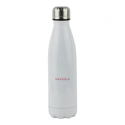 The Snuggle Is Real Stainless Steel Water Bottle Designed By Meganphoebe