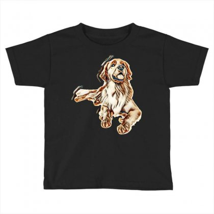 Cute Dogs Toddler T-shirt Designed By Kemnabi