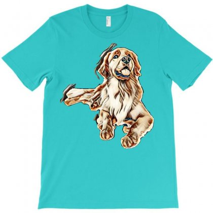 Cute Dogs T-shirt Designed By Kemnabi