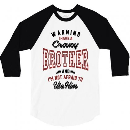 Brother 3/4 Sleeve Shirt Designed By Chris Ceconello