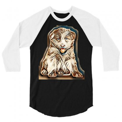 Animal 3/4 Sleeve Shirt Designed By Kemnabi
