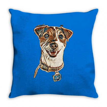 Cute Animals Throw Pillow Designed By Kemnabi