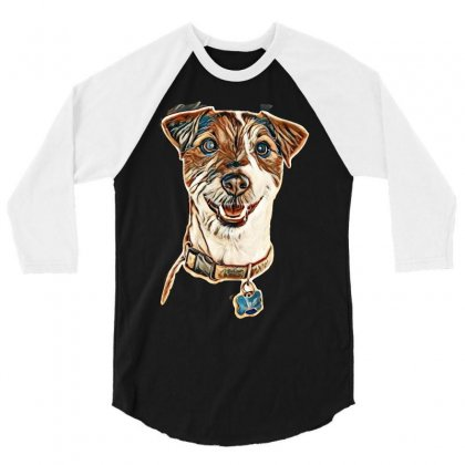 Cute Animals 3/4 Sleeve Shirt Designed By Kemnabi