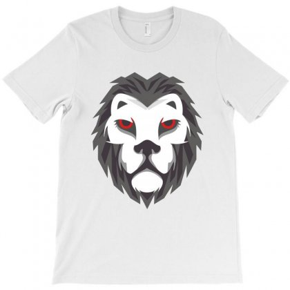 Lion Head T-shirt Designed By Ashrafjaradat