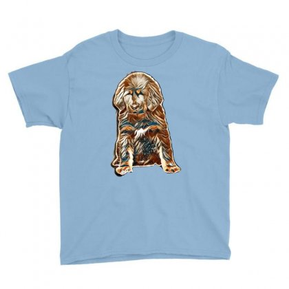 Dog Love Youth Tee Designed By Kemnabi