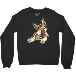 love my dog Crewneck Sweatshirt | Artistshot