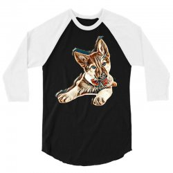 love my dog 3/4 Sleeve Shirt | Artistshot