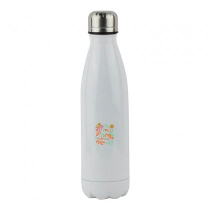 Tread Lightly Stainless Steel Water Bottle Designed By Meganphoebe