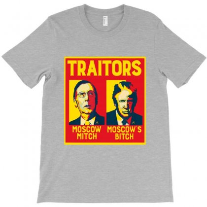 Traitors Ditch Moscow Mitch T-shirt Designed By Blqs Apparel