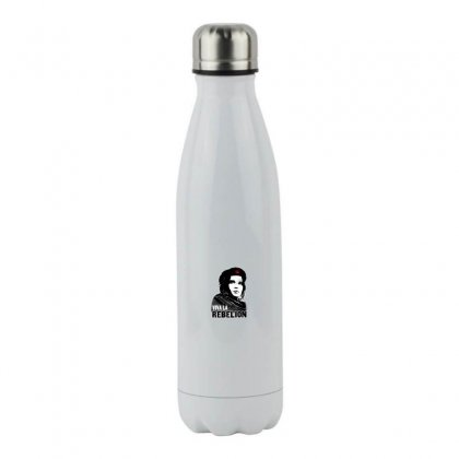 Viva La Rebelion Stainless Steel Water Bottle Designed By Meganphoebe