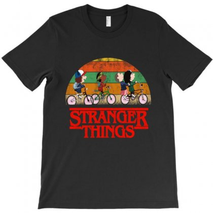 Stanger Things Vintage T-shirt Designed By Blqs Apparel