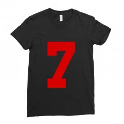 number 7 Ladies Fitted T-Shirt | Artistshot