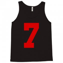 number 7 Tank Top | Artistshot