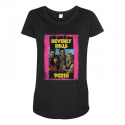 beverly hills 90210 90's Maternity Scoop Neck T-shirt | Artistshot