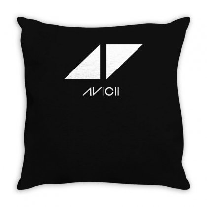 Avicii Throw Pillow Designed By Ismi