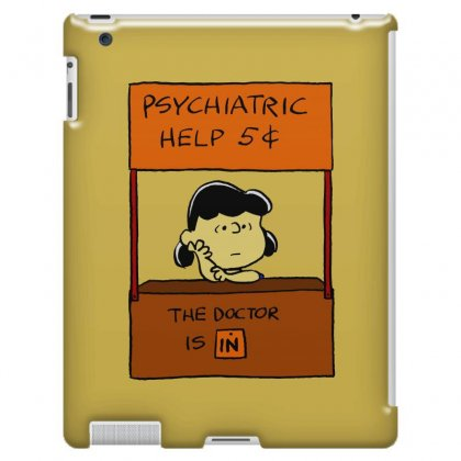 Lucy Van Pelt: The Doctor Is In Ipad 3 And 4 Case Designed By Pop Cultured