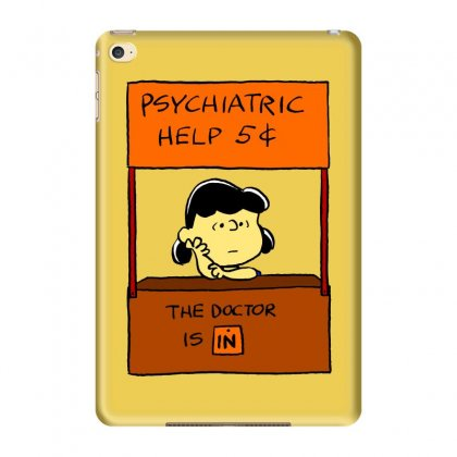 Lucy Van Pelt: The Doctor Is In Ipad Mini 4 Case Designed By Pop Cultured