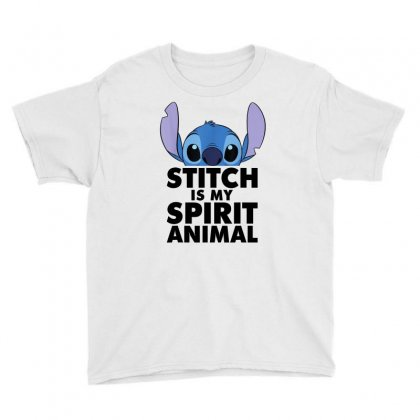 Disney Lilo And Stitch Spirit Animal T Shirt Youth Tee Designed By Cuser1744