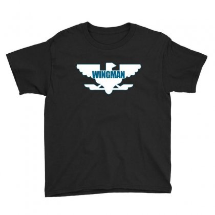 Wingman Youth Tee Designed By Curspact