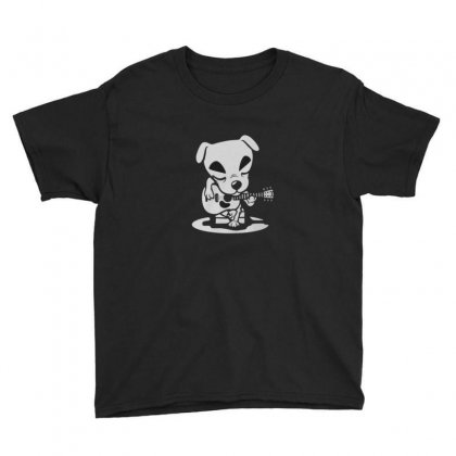 Guitarist Dog Youth Tee Designed By Disgus_thing