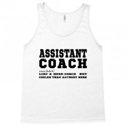 funny assistant coach   for white Tank Top | Artistshot