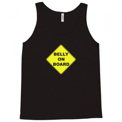 Belly On Board Beer Tank Top Designed By Funtee