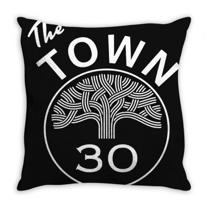 89 Golden State Warriors The Town Throw Pillow Designed By Ahmadjufriyanto