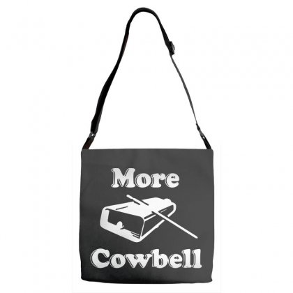 More Cowbell Adjustable Strap Totes Designed By Pinkanzee