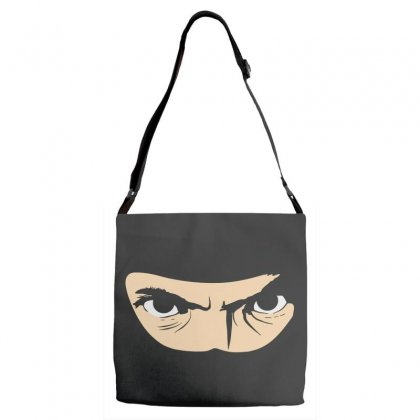 My Ninja Disguise Adjustable Strap Totes Designed By Pinkanzee