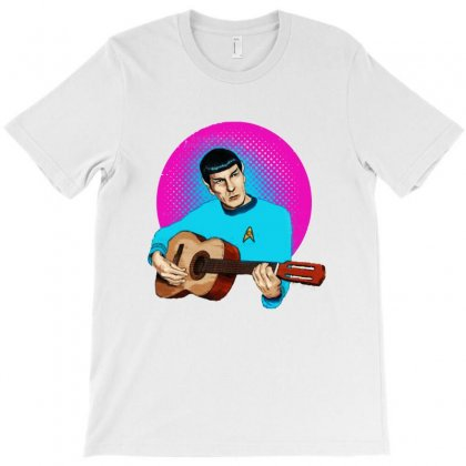 Music From Outer Space T-shirt Designed By Blqs Apparel