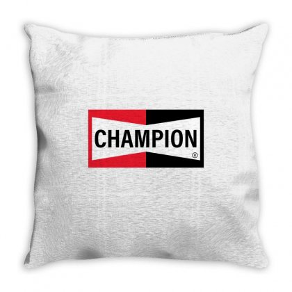 Champion Throw Pillow Designed By Toweroflandrose